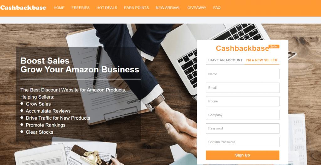 cashbackbase seller central
