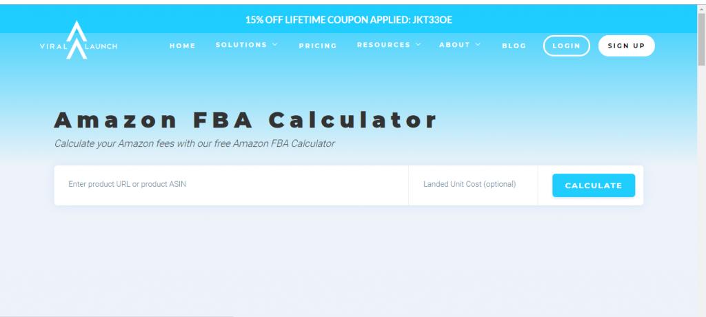 Viral Launch Amazon FBA Calculator