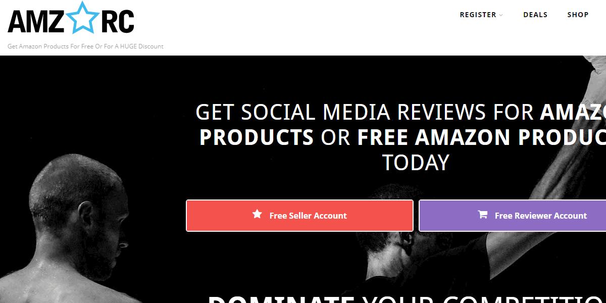 amzrc amazon review sites