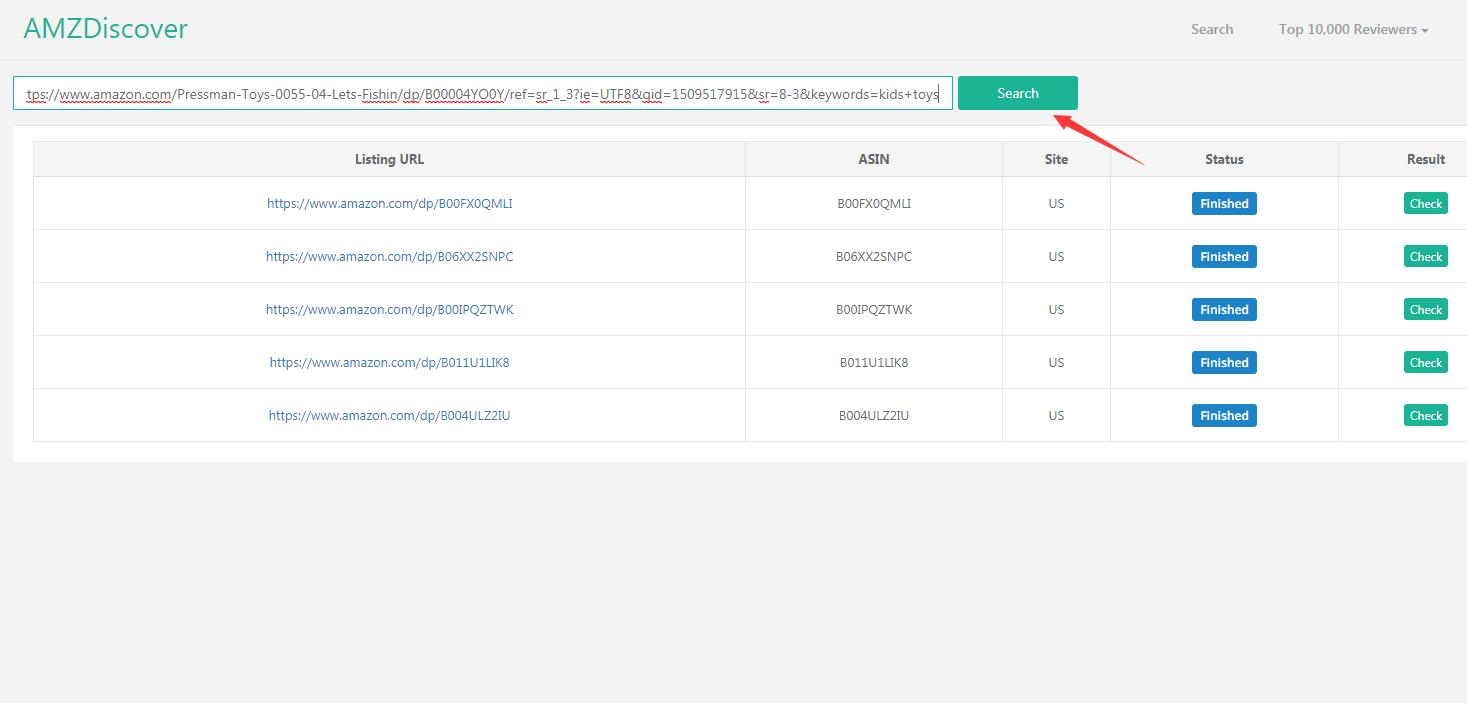 copy listing url
