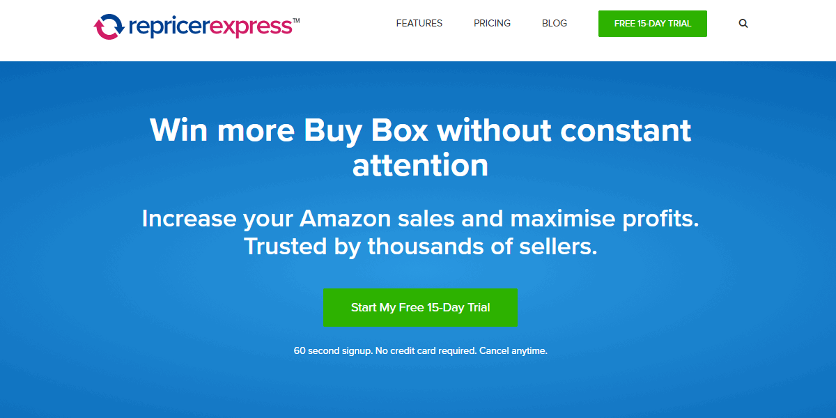 repricerexpress amazon repricing tools