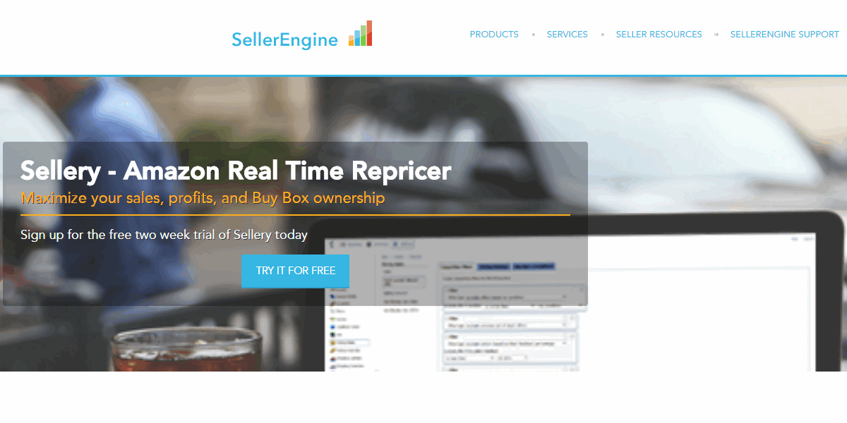 sellery amazon repricing tool