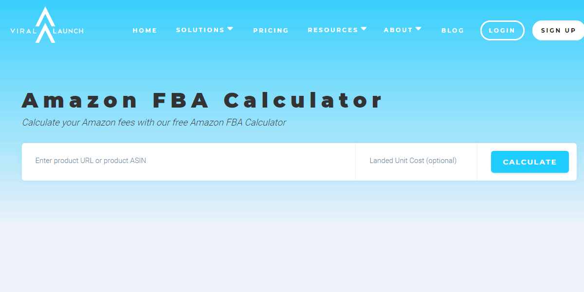 viral-launch-amazon-fba-calculator