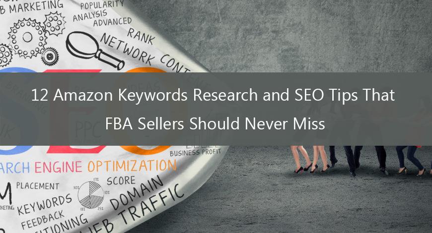 Amazon keyword research and SEO