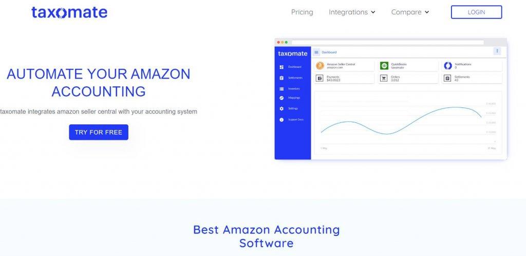taxomate- amazon account management