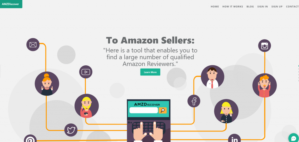 AMZDiscover get reviewer information