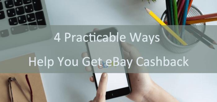 get eBay cashback
