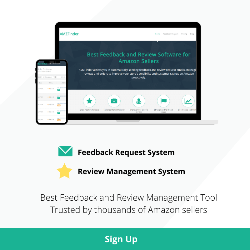 best review and feedback management tool for Amazon sellers