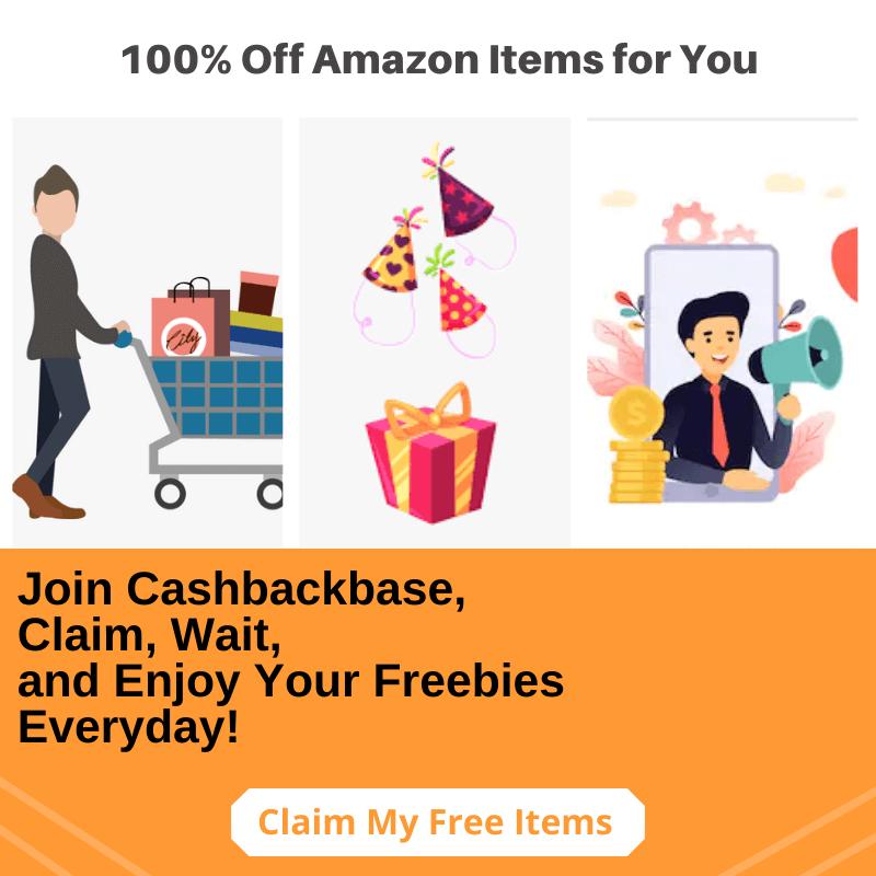 get free amazon item on cashbackbase