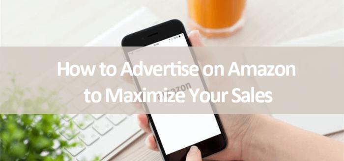how to advertise on Amazon