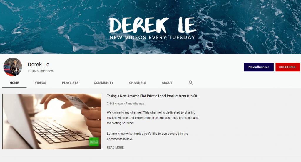 Derek Lee – Free Amazon FBA course