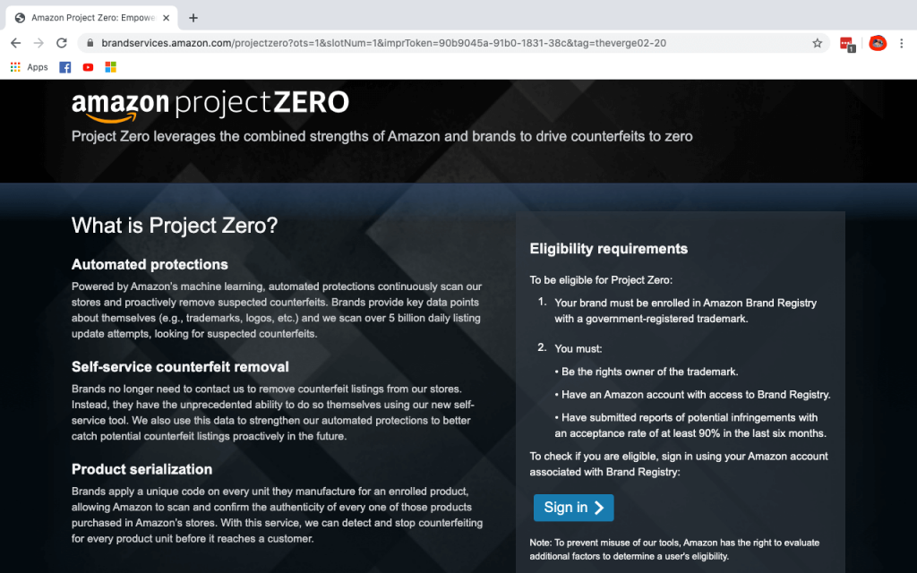 step 1 to join Amazon Project Zero